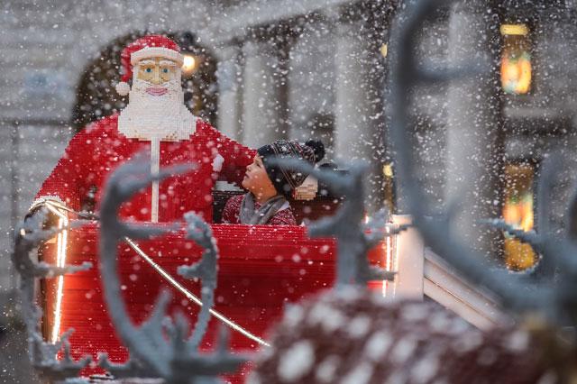 LEGO Santa Covent Garden