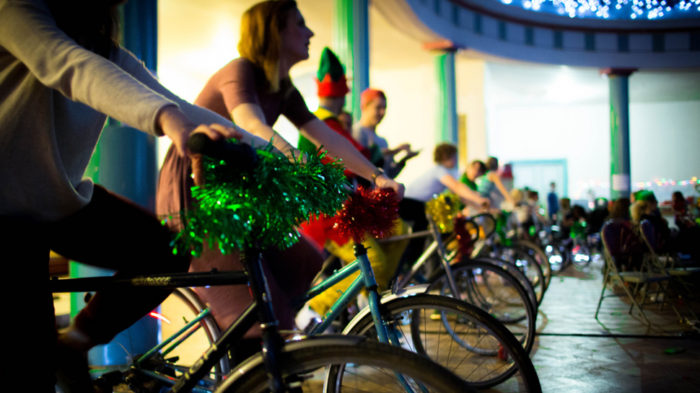Make Hackney Sparkle cycling