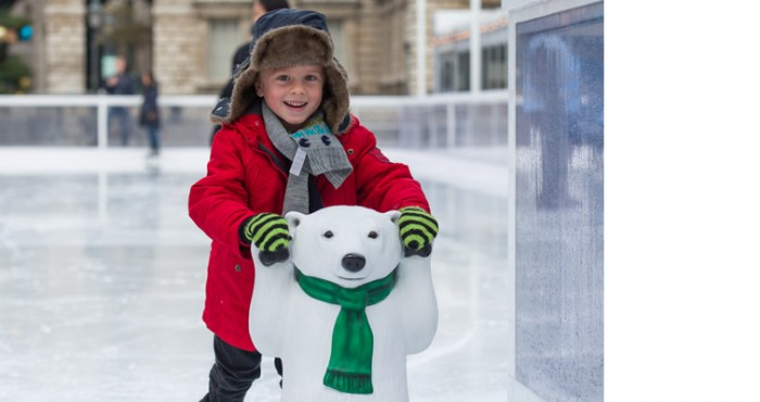 Skate Polar Cub Club Somerset House