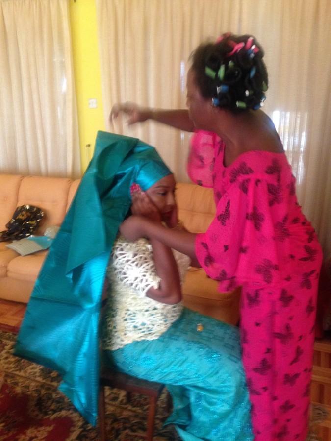 Nigeria Odu ceremony prep
