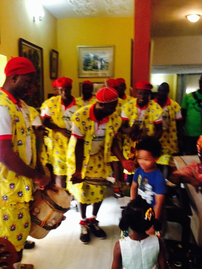 Nigeria Odu drummers