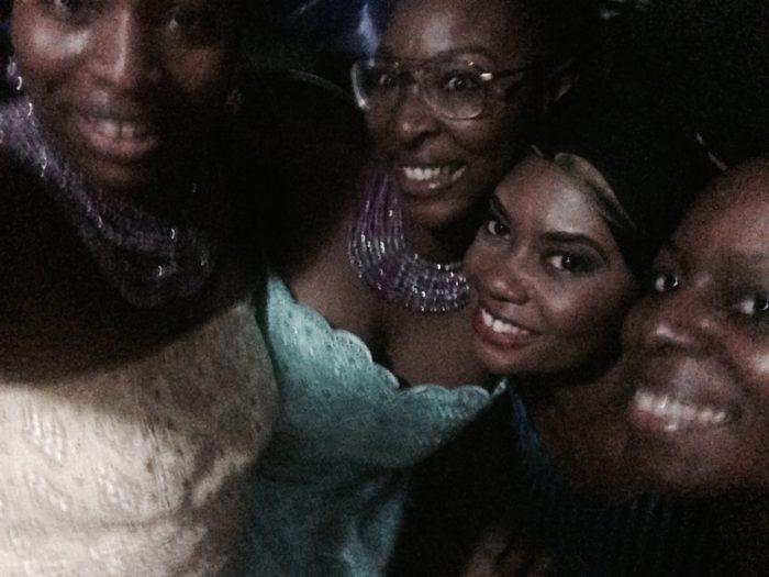 Nigeria Odu after party selfie