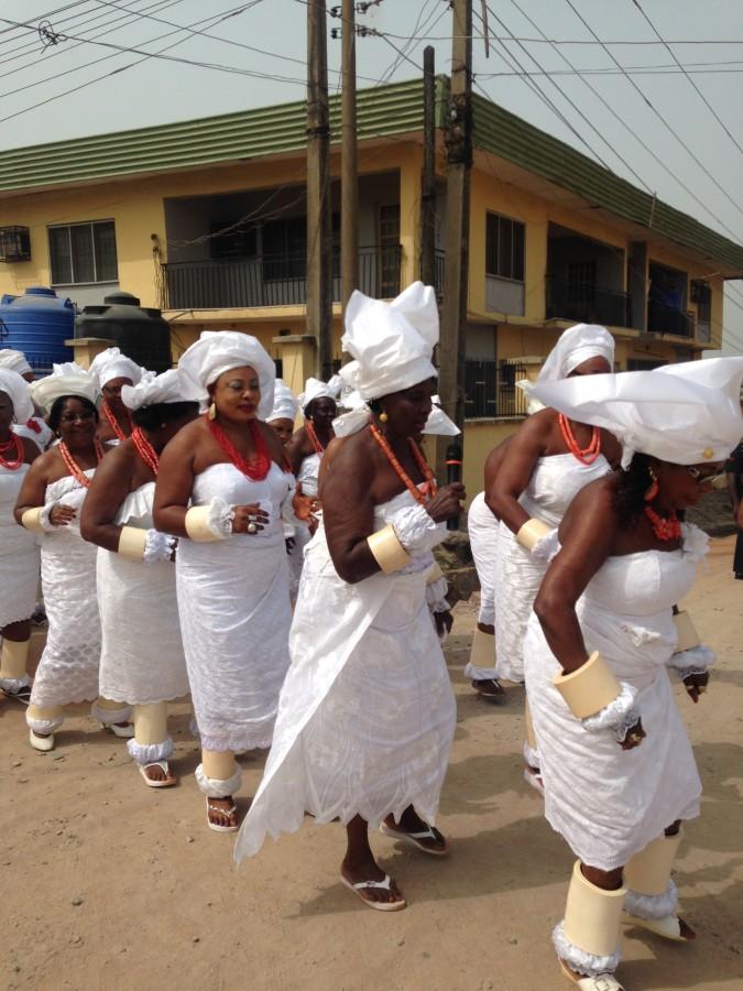 Nigeria Odu dance