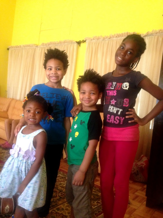 Babes with family Nigeria
