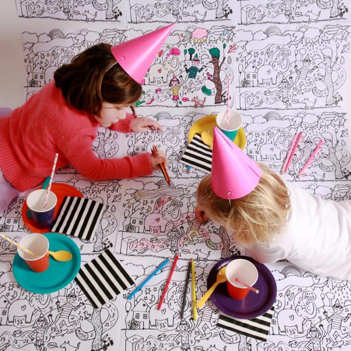 Little Lulubel Colour In Party Kit