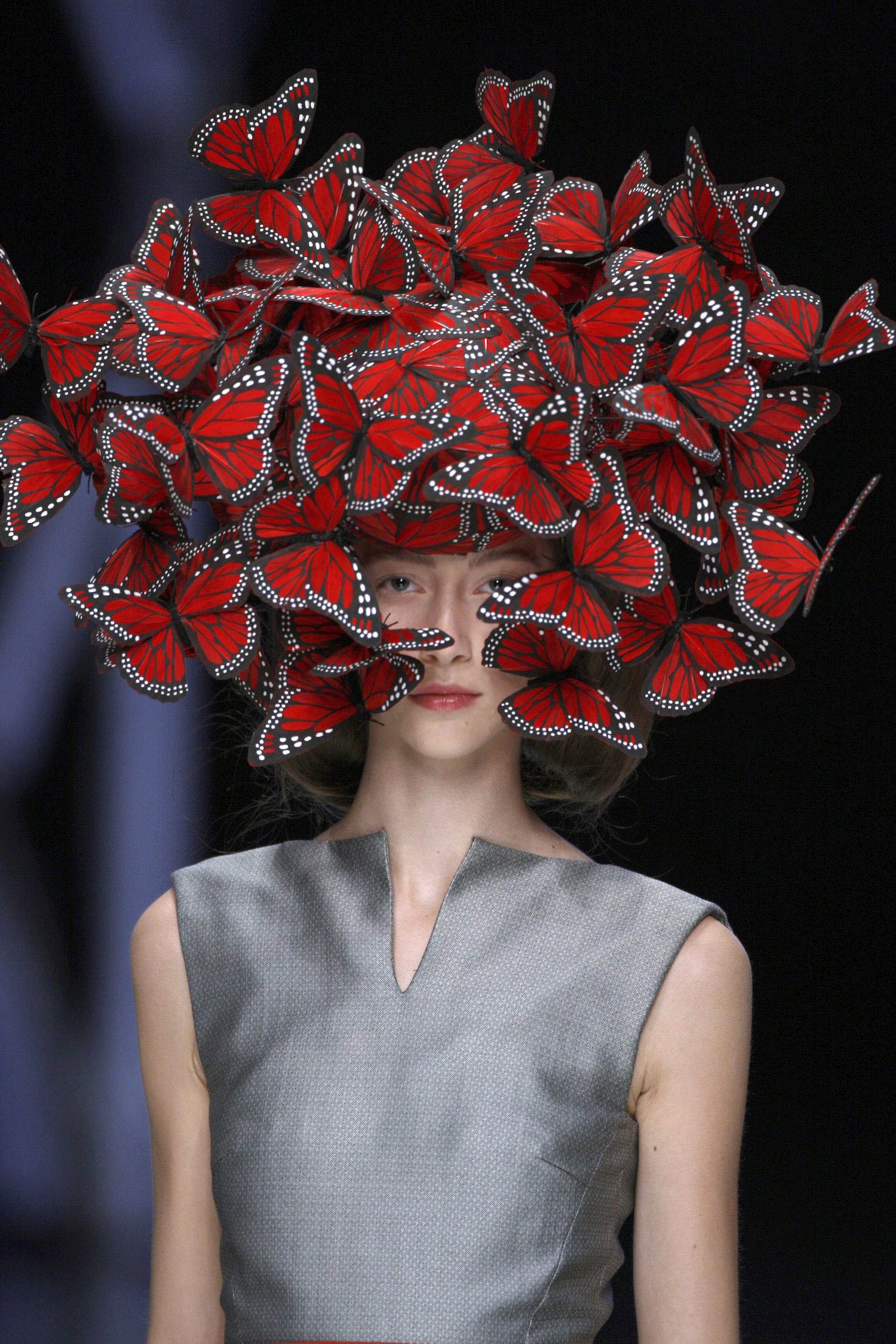 Alexander McQueen Butterfly headdress