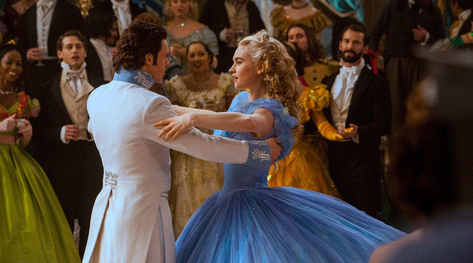 Disney Cinderella ballroom dance