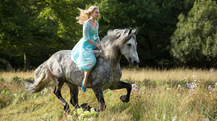 Disney Cinderella on horse