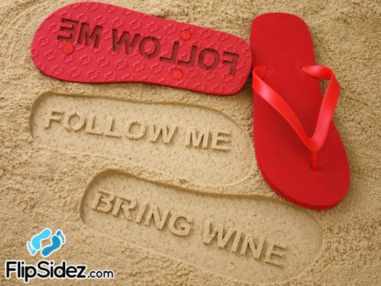 Follow Me FlipSidez flip flops