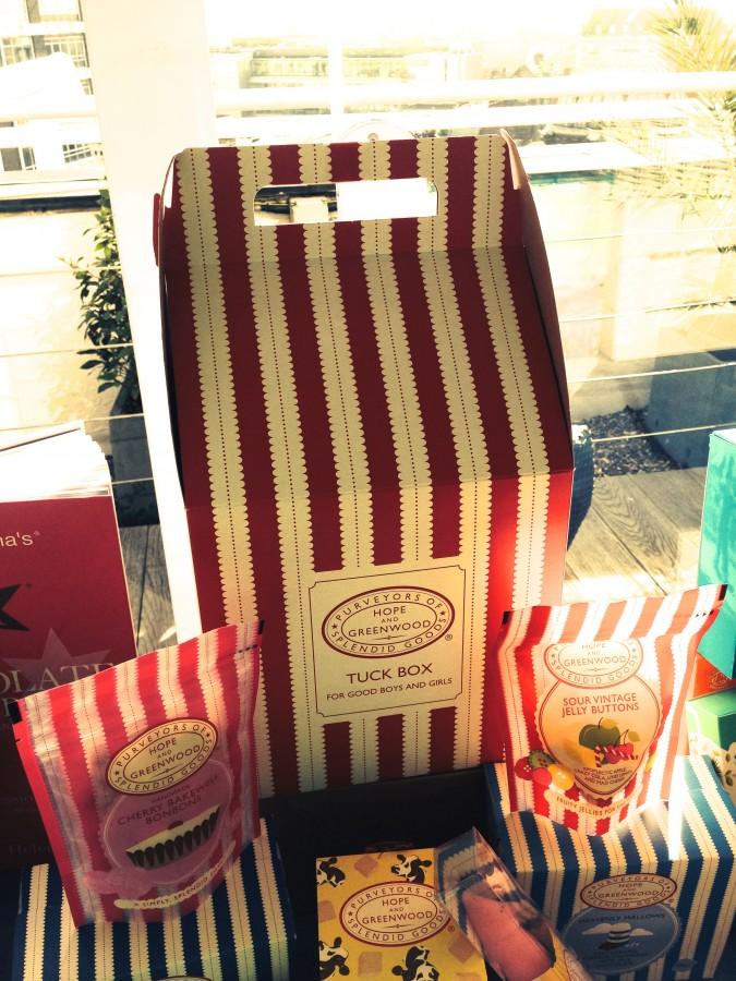Hope & Greenwood tuck box at Moonpig Spring Collection