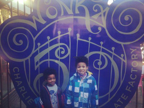 Roald Dahl museum entrance