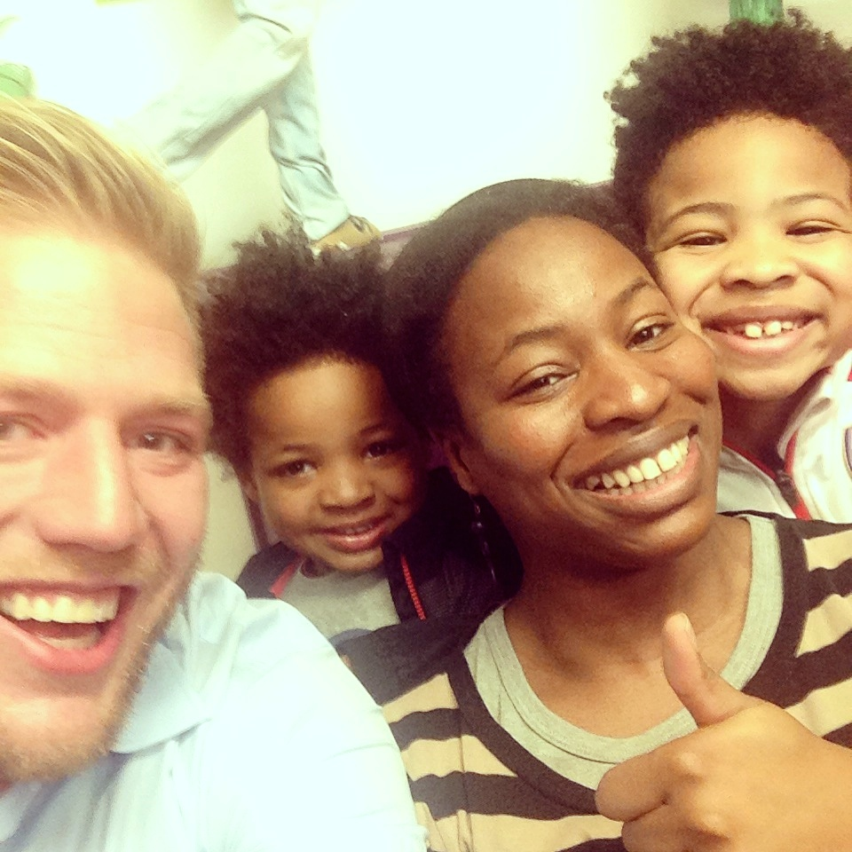 Jack Swagger selfie with Babes about Town