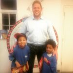 WWE Superstar Jack Swagger at Roald Dahl Museum