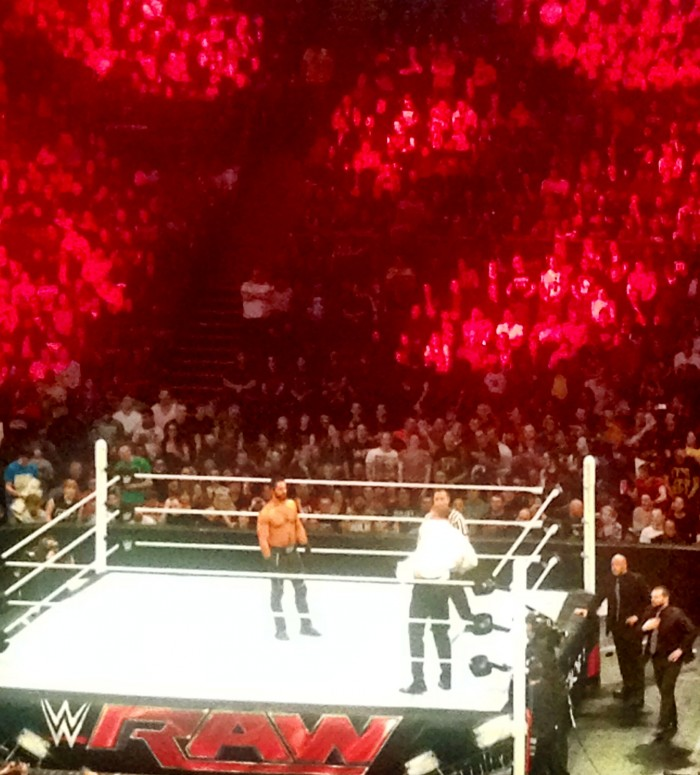 Seth Rollins WWE RAW London