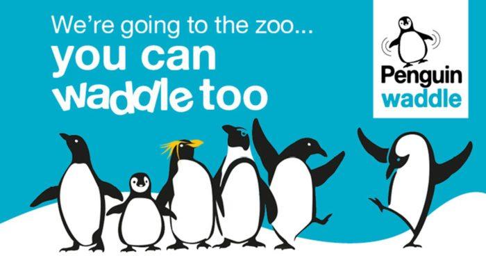 Penguin Waddle London Zoo