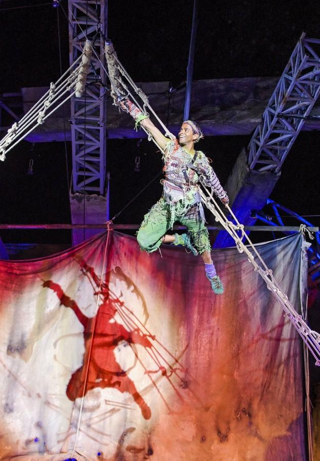 Hiran Abeysekera as Peter Pan (1). Photo Tristram Kenton.jpg