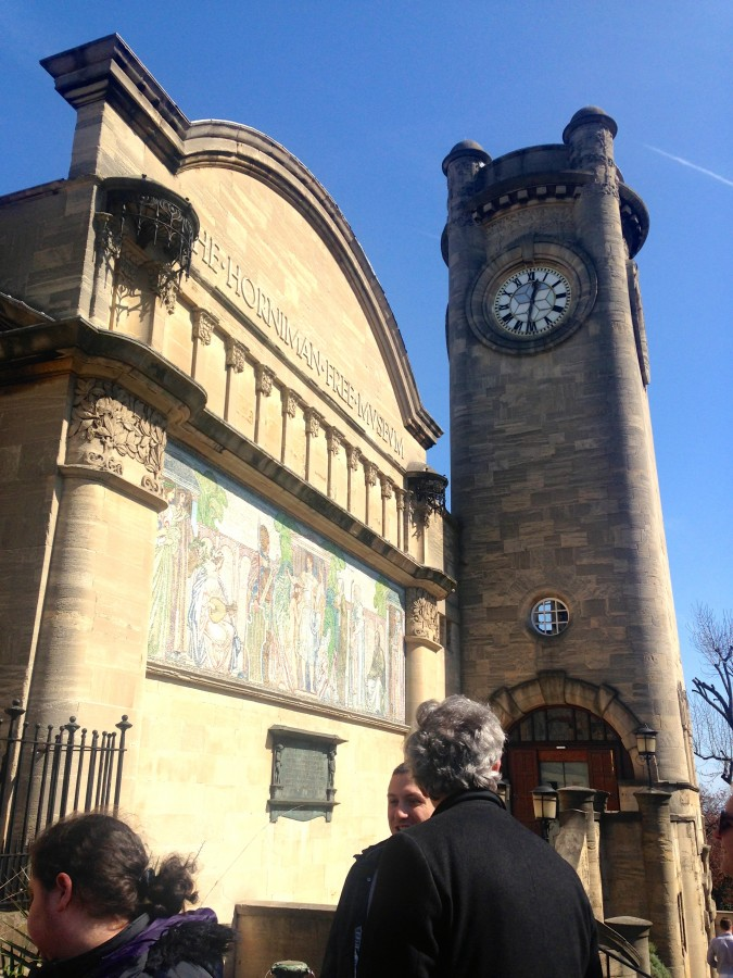 Horniman museum clock tower