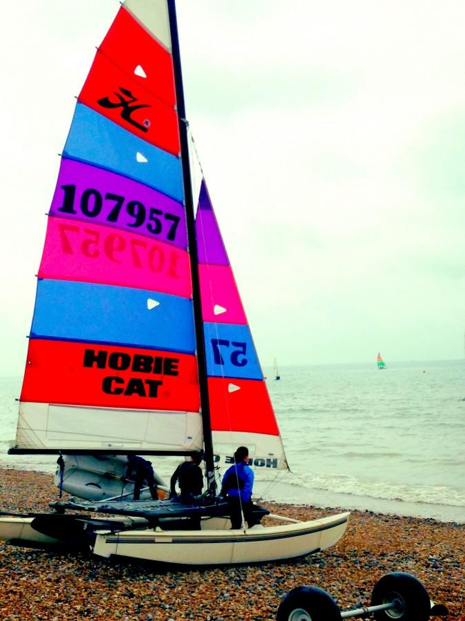 Brighton beach windsurfing