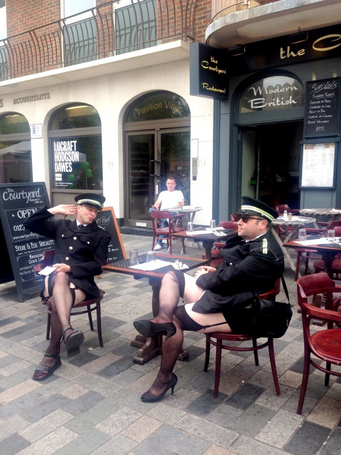 Brighton Fringe policemen