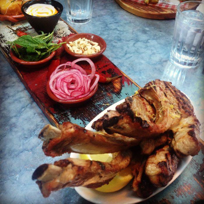 Jamie's Italian lamb chops