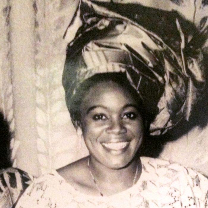 Mum black and white