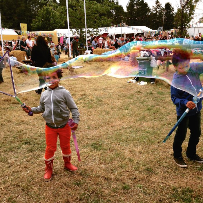 Big Feastival bubble wands