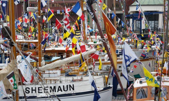 St Katherine Docks Classic Boat Festival Totally Thames