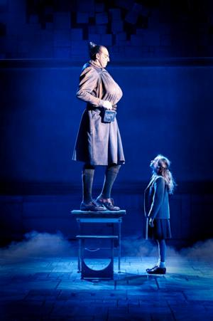 Matilda the Musical Miss Trunchbull and Matilda