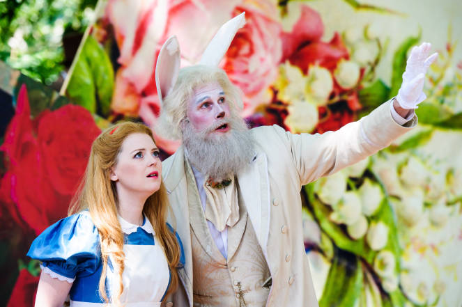 Alice in Wonderland Opera Holland Park Royal Opera House