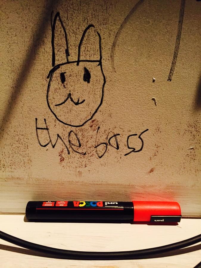 Boss Bunny by Ezra at Invisible Treasure