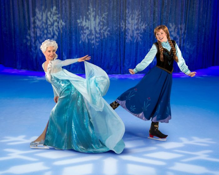 Disney on Ice Worlds of Enchantment Elsa and Anna Frozen