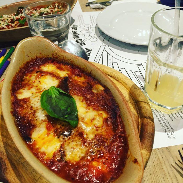 Rossopomodoro Parmigiana
