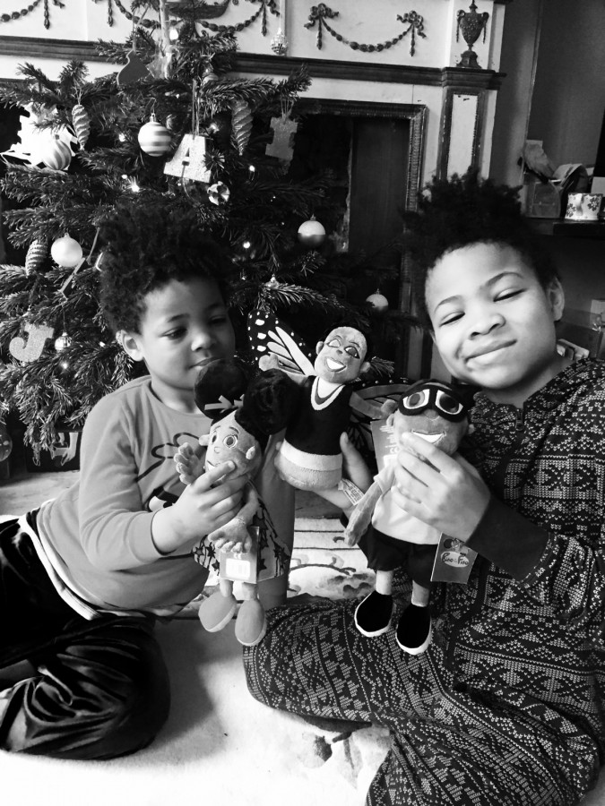Bino and Fino black and white