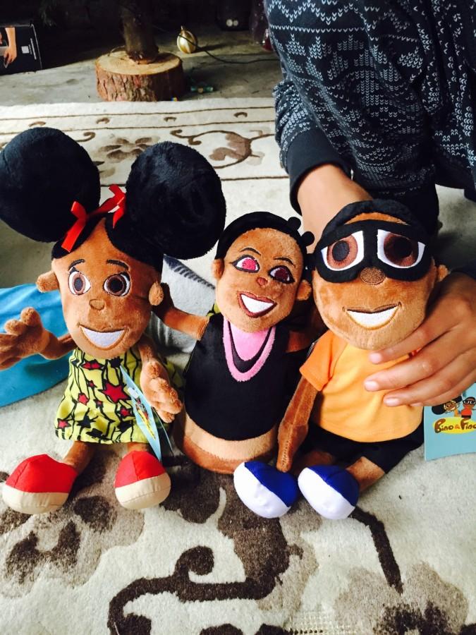 Bino and Fino limited edition plush toys