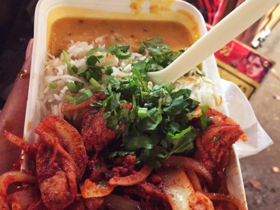Chicken Tikka at Guptas Bombay