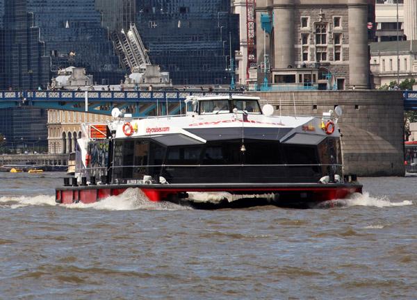 London sightseeing cruises on City Cruises Millennium Diamond