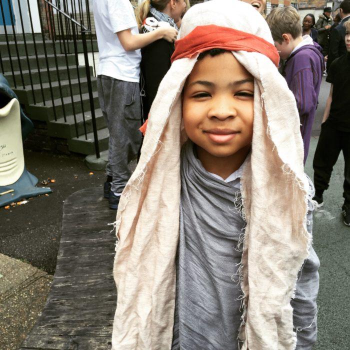 Ezra as Joseph Nativity