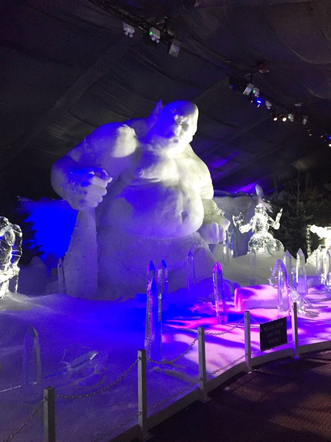 Hyde Park Winter Wonderland Ice Troll