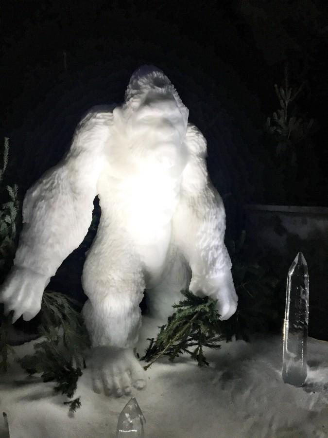 Hyde Park Winter Wonderland Ogre