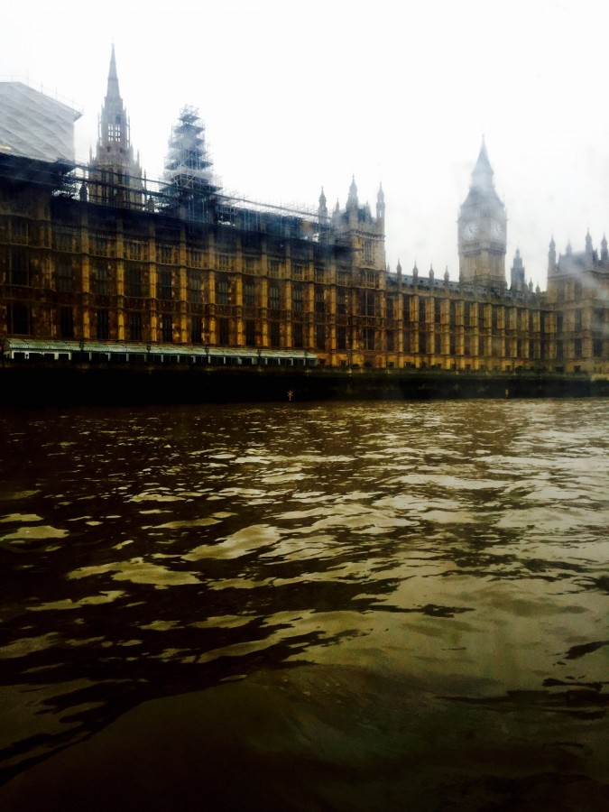 London Duck Tours view of Houses of Parliament