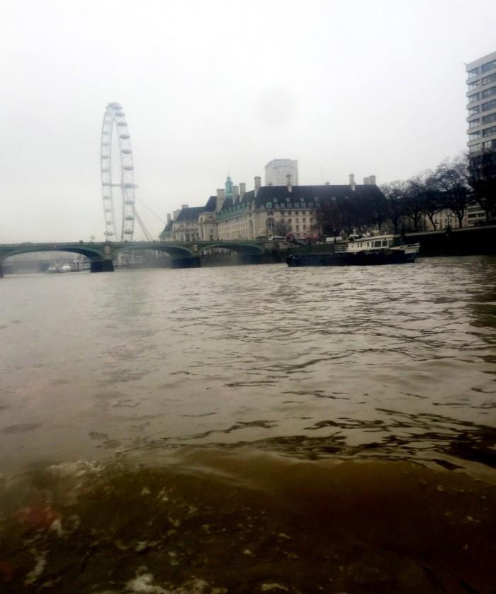 London Duck Tours view of London Eye