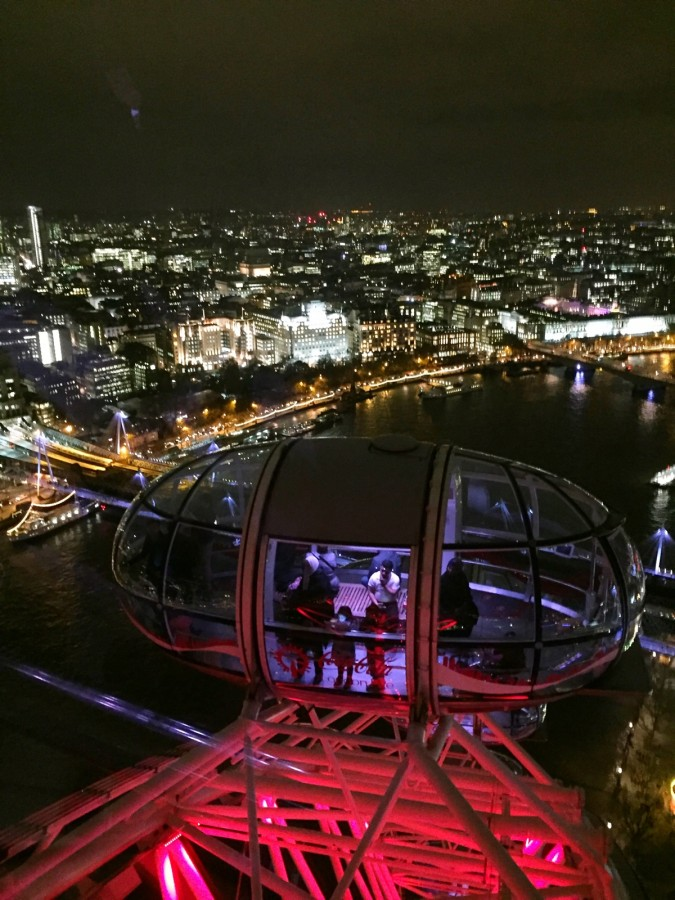 London Eye Night Flight