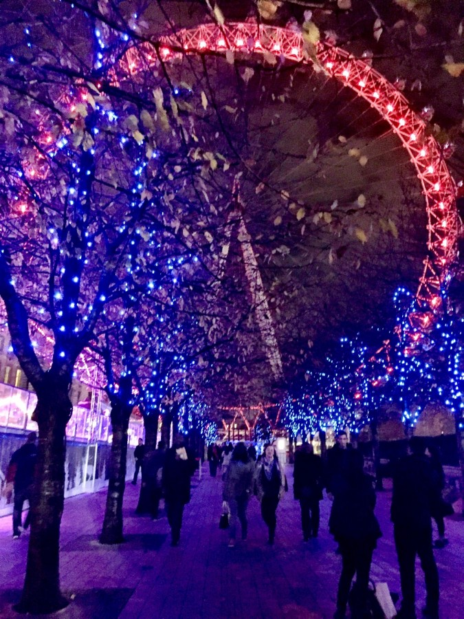 London Eye Southbank Winter