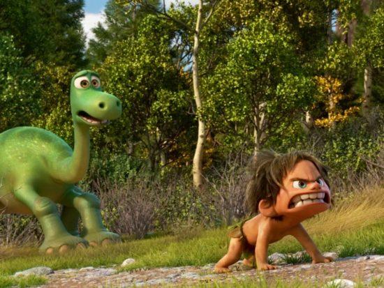 The Good Dinosaur Arlo and Spot