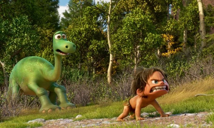 The Good Dinosaur Arlo and Spot