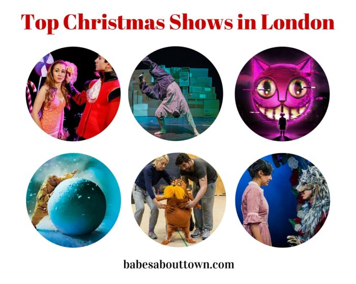Top children's christmas shows in London