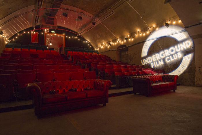 Underground Film Club cinema