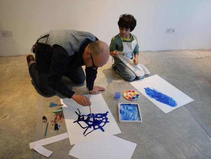 London Art Fair families