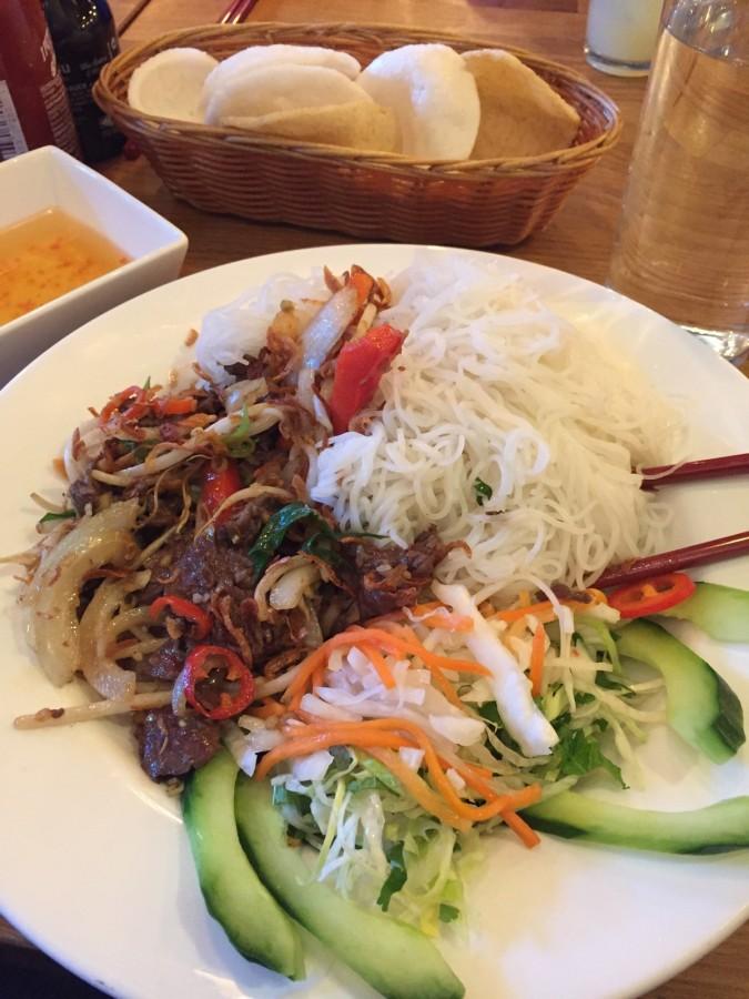 Pho House Bun Xa noodle salad