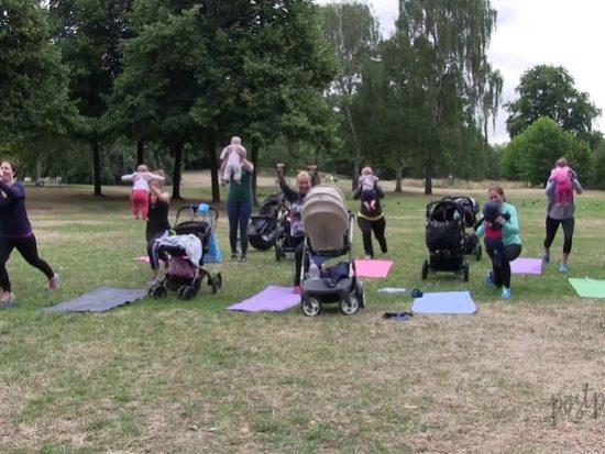 Postparty fitness for mums
